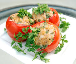 Cheese Stuffed Tomatoes
